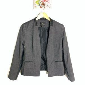 Worthington Grey and Leather Jacket